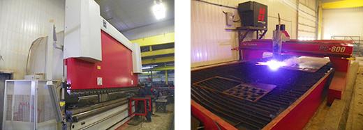 Fabrication de gratte à neige et épandeur pour camion