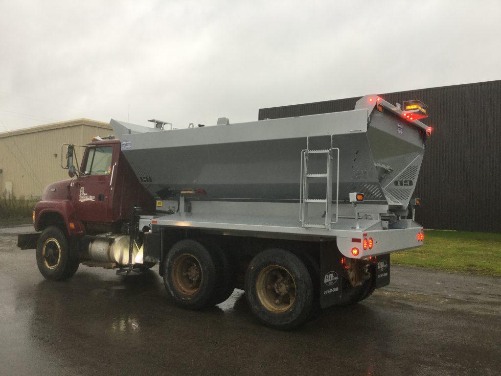 Épandeur de sel simple  pour camion  déneigement / déglaçage