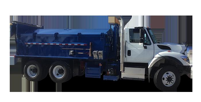 Bennes à asphalte pour camion